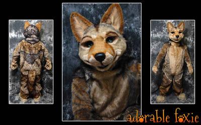 Coyote Fursuit by crssafox