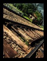 Railway rocks by XtraVagAnT