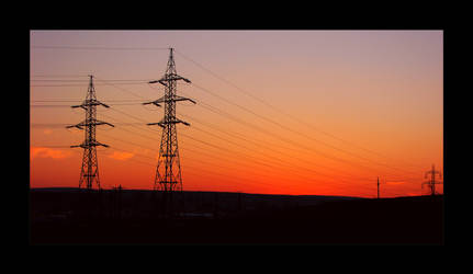 Wired Sunset by XtraVagAnT