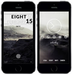 Current setup. iPhone 5s. by xxtashy