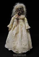 Mattie - Zombie Art Doll by shainerin