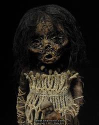 Mummy Sculpture  M36 by shainerin