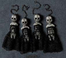 Harbinger Art Doll Ornies 2 by shainerin