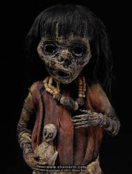 Mummy Sculpture M40 detail by shainerin