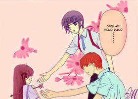 Tohru give me your hand... by maria4art