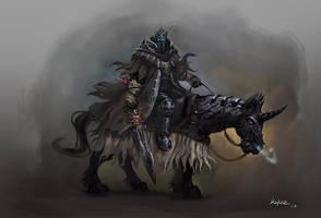 Ghost knight by KEKSE0719