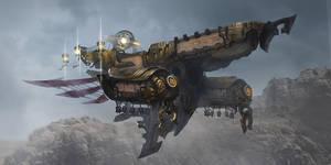 Airship by KEKSE0719