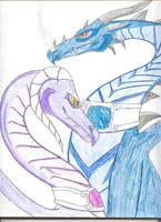 Dragons by Lady-Eluzar