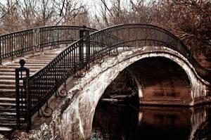 Rusty Bridge Stock by JessicaDobbs