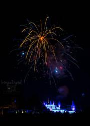 Memorial Day Cascades Fireworks, Jackson, Michigan by JessicaDobbs
