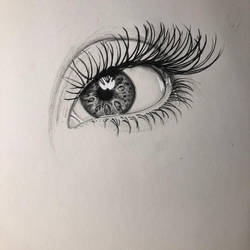 Quick eye sketch by ChrisPanatier