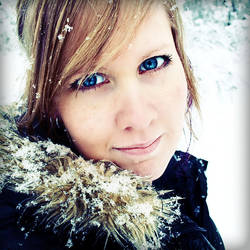 Me in The Snow... by UntaintedSoul