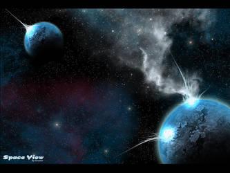 Space View by Arcaziel