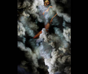 Hecate in the Clouds. by sangis
