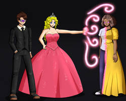 Dark Mask Commission With Princess Caelia by blackwidow69x