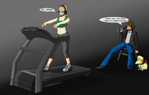 Treadmill Commission by blackwidow69x