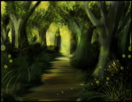 Magic Forest by Maye1a