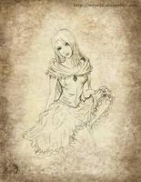 Mevia - Pencil Work by Maye1a