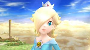 Rosalina is looking at you in Smash 4 by MetaRosalinaMeister