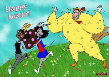 Ratigan - Niky and Sami  - Happy Easter by Niky94