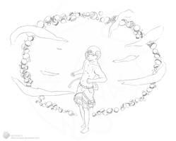 Luciferu - Lineart by Xykun