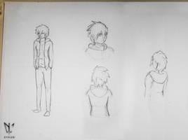 Hiai Sketchs by Xykun