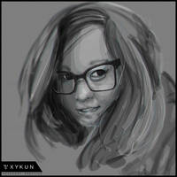 [HEADSHOT] 001 - Glance by Xykun