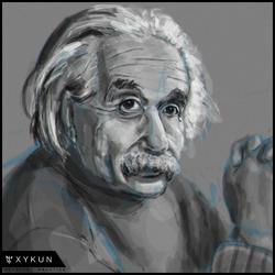 [HEADSHOT] 002 - Einstein by Xykun