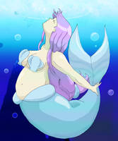 Chubby Mermaid by Misaroara