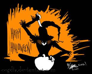 Scarecrow: Happy Scarecroween by cogdis