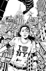 IDW Transformers Mikalea Cover by timshinn73