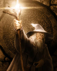 Gandalf Final by timshinn73