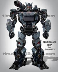 Soundwave Full Body Design by timshinn73