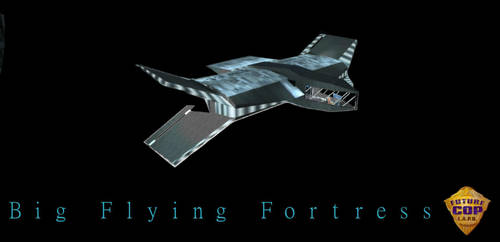 Big Flying Fortress by Mavwave