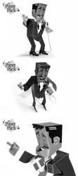 The Paper Pack: Sammy Davis Jr by luiskriegel