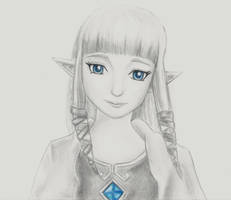 Zelda-Skyward Sword by akatsukicloud227