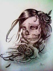 day of the dead by sajinn
