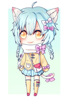 [Personal] Rikku by Uni-colours