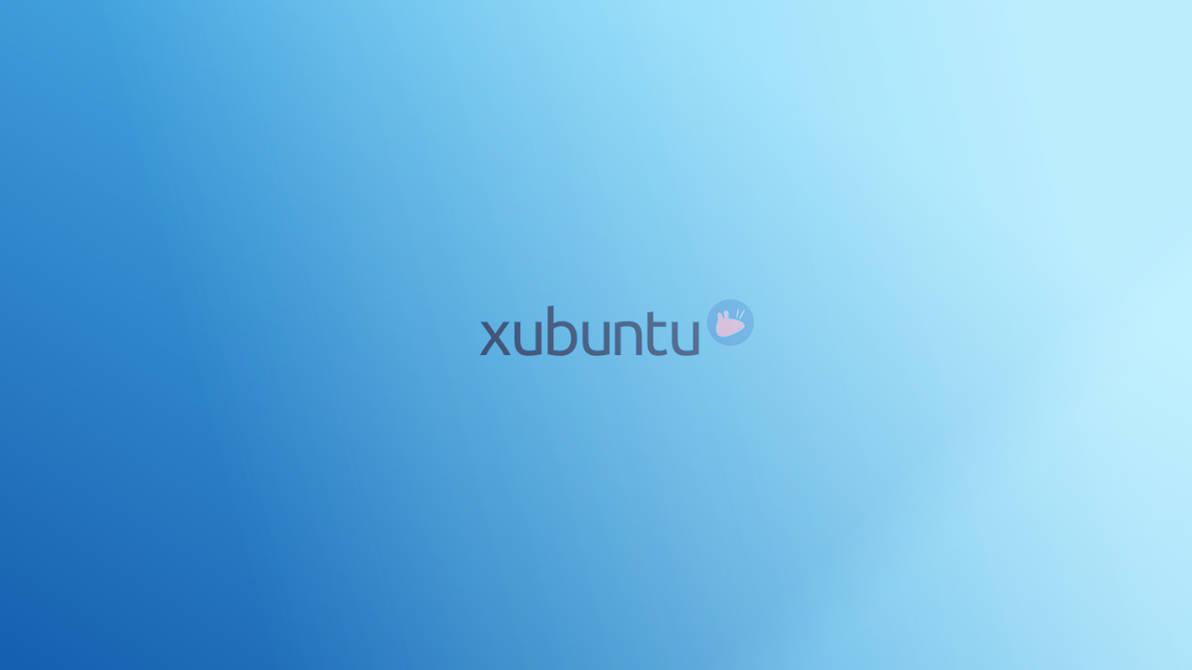 minimal blue xubuntu by LovelyBacon