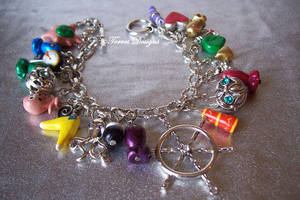 1st Wind Waker Charm Bracelet Zelda Handmade by TorresDesigns