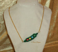 Magic Beans Necklace Zelda OoT MM Handmade OOAK by TorresDesigns
