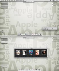 Apple Desk by sreeejith