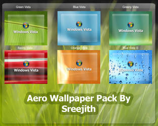 Aero Wallpaper Pack by sreeejith