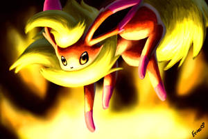 Flareon fire by Togechu