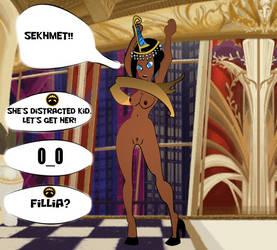 SkullGirls: Osiris Malfunction by amanwithnoplan