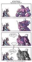 MTMTE#19 Cyclonus and Whirl by koch43