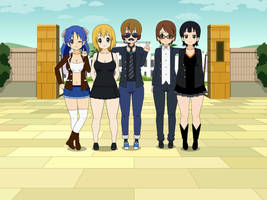 Kisekae Group picture request by MarnicSteve92