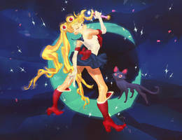 The original magical girl - Sailor Moon by irismuddy