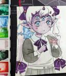 [ART TRADE] Nunuke Diamonds by Jasmine-Kao