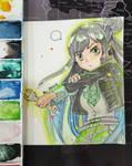[ART TRADE] Bedelia (Be) by Jasmine-Kao